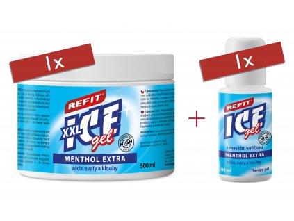 Refit Ice Gel Menthol Extra 500 ml a 80 ml Den otců 3