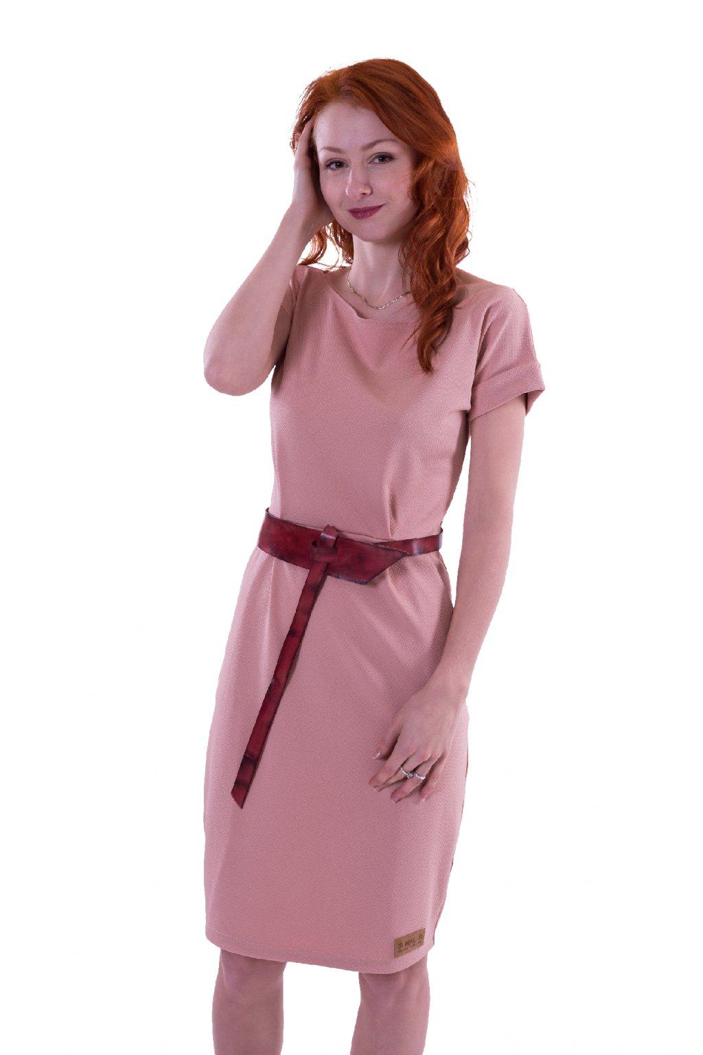 Pouzdrové šaty (Barva Černá, Velikost S pas 72cm Délka 70cm)