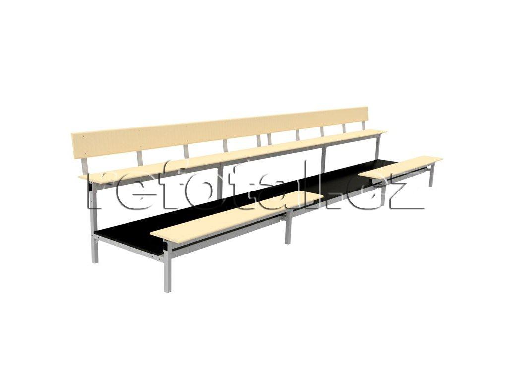refotal stacionární sezení lavička 3