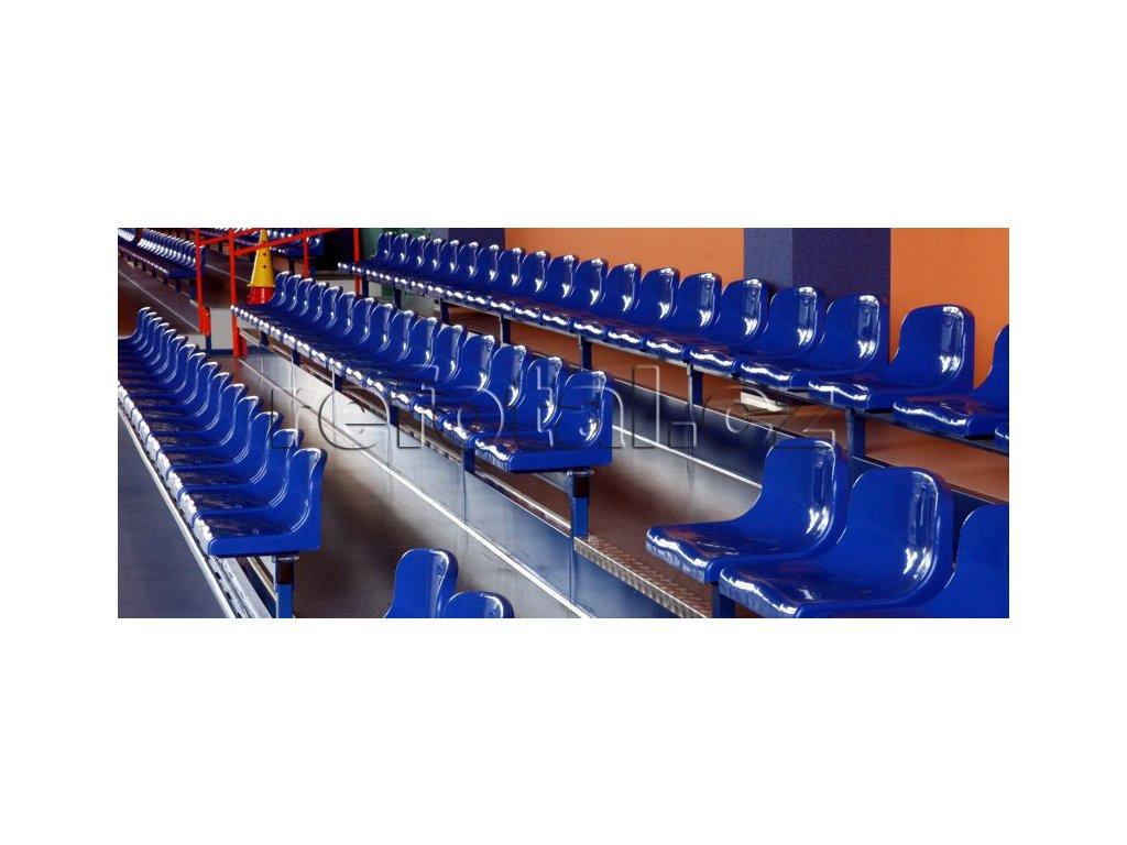 refotal stacionární sedačka 3 řady podest typ TSH 200 2