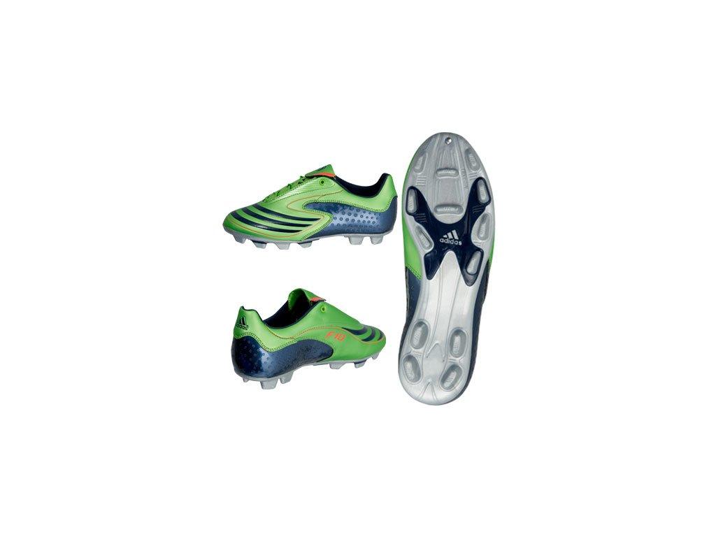 Kopačky Adidas F 10, lisovky zelené
