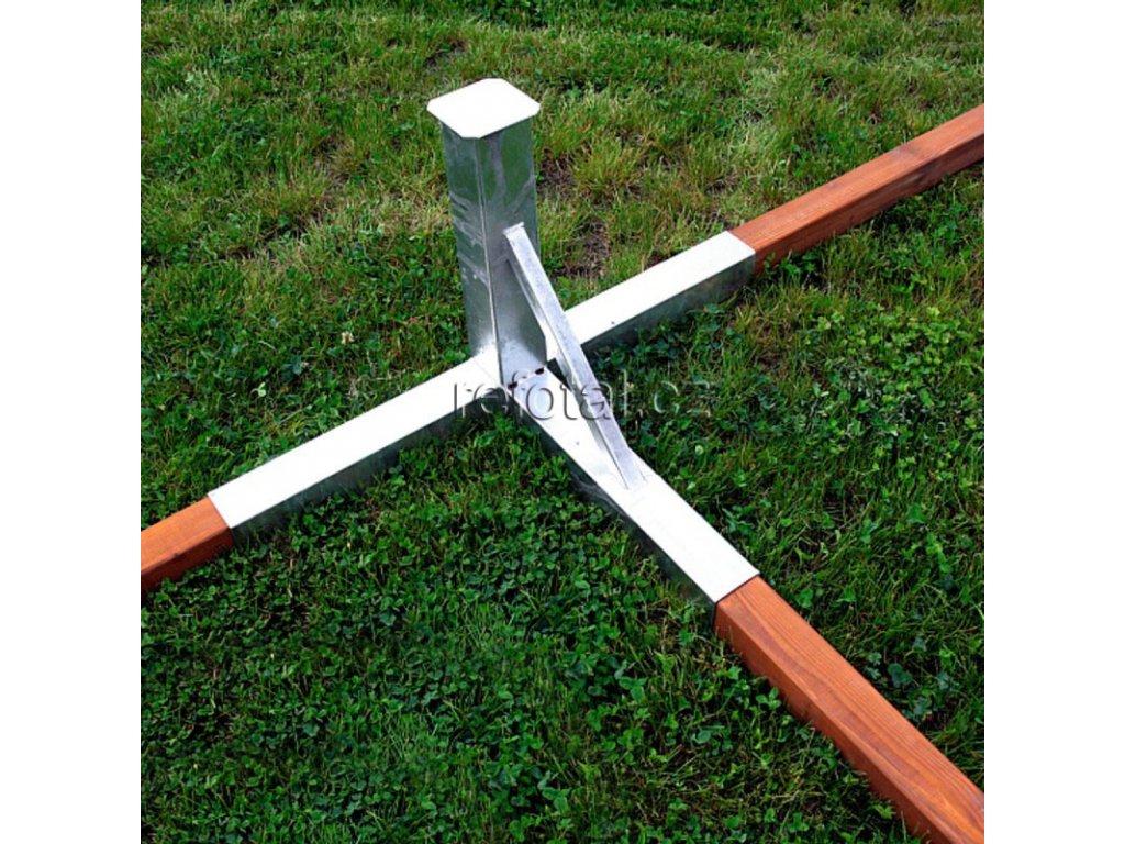 refotal volejbal tulej pro sloupek železný 80x80 plážový foto 2