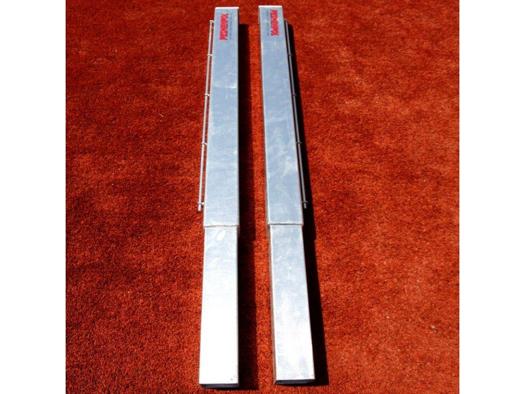 refotal tenisové sloupky ocelové 90x90 mm