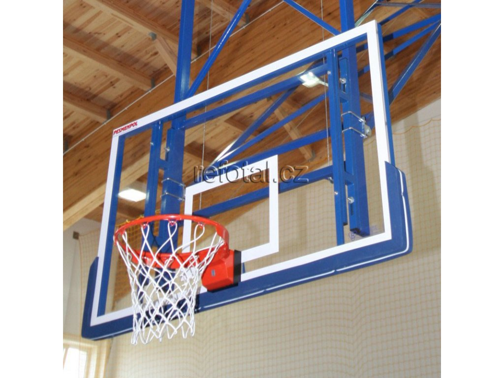 refotal basket. deska akr. sklo 10 mm, 105x180 cm