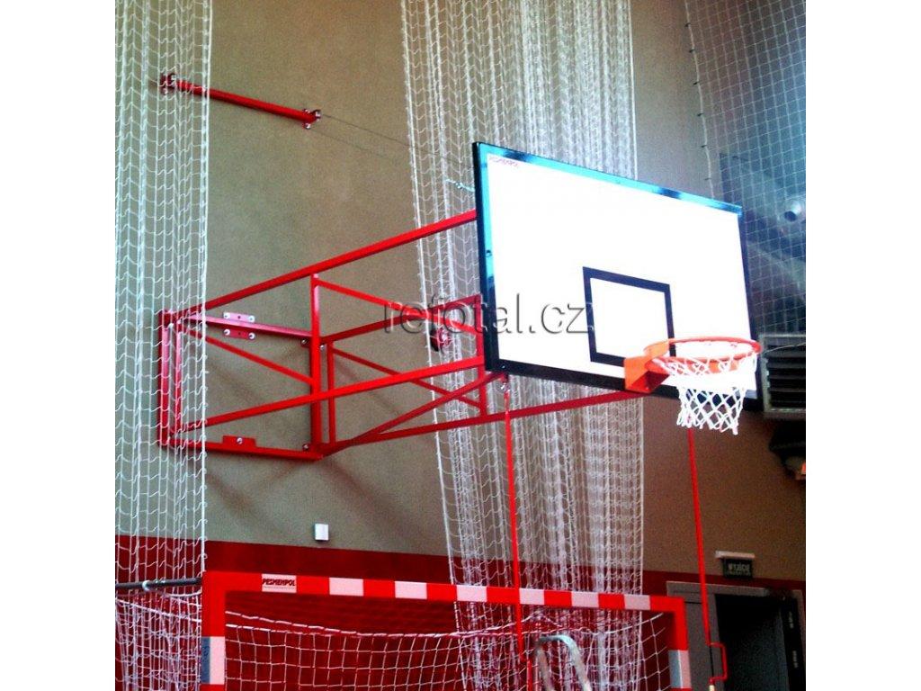 refotal basket konstrukce výklopná s lanky od 340 do 440 cm foto 2