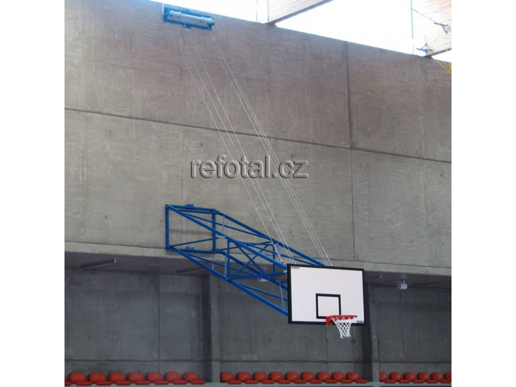 refotal basket konstrukce sklopná ke stropu el.pohon foto 3