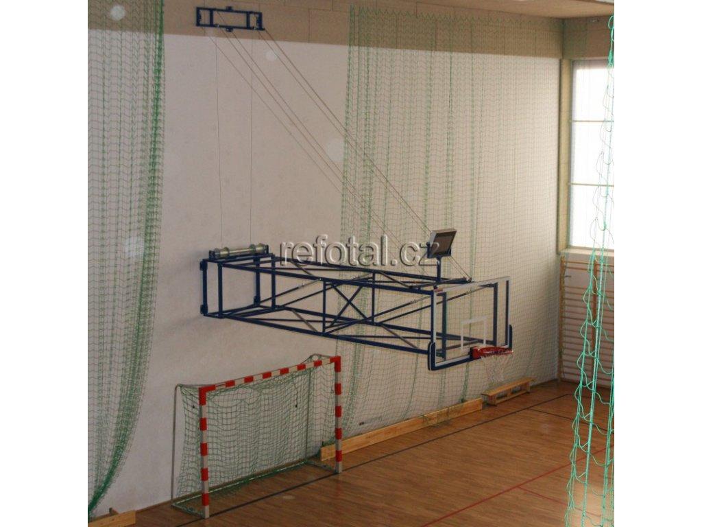refotal basket konstrukce sklopná ke stropu el.pohon foto 2