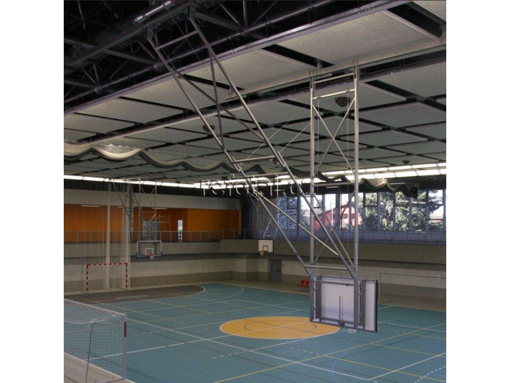 refotal basket konstrukce s elektrickým pohonem