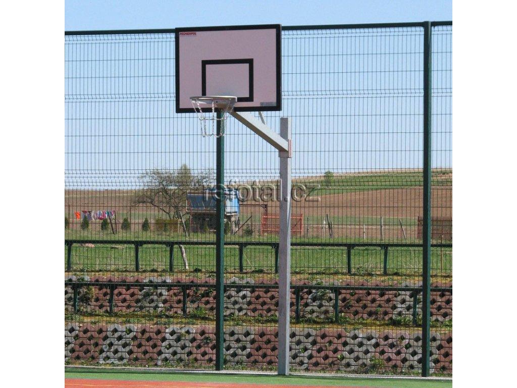 refotal basket konstrukce jednosloupová 90x120 cm uchycení pevné