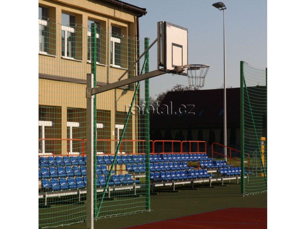 refotal basket konstrukce jednosloupová 90x120 cm uložená v pouzdře
