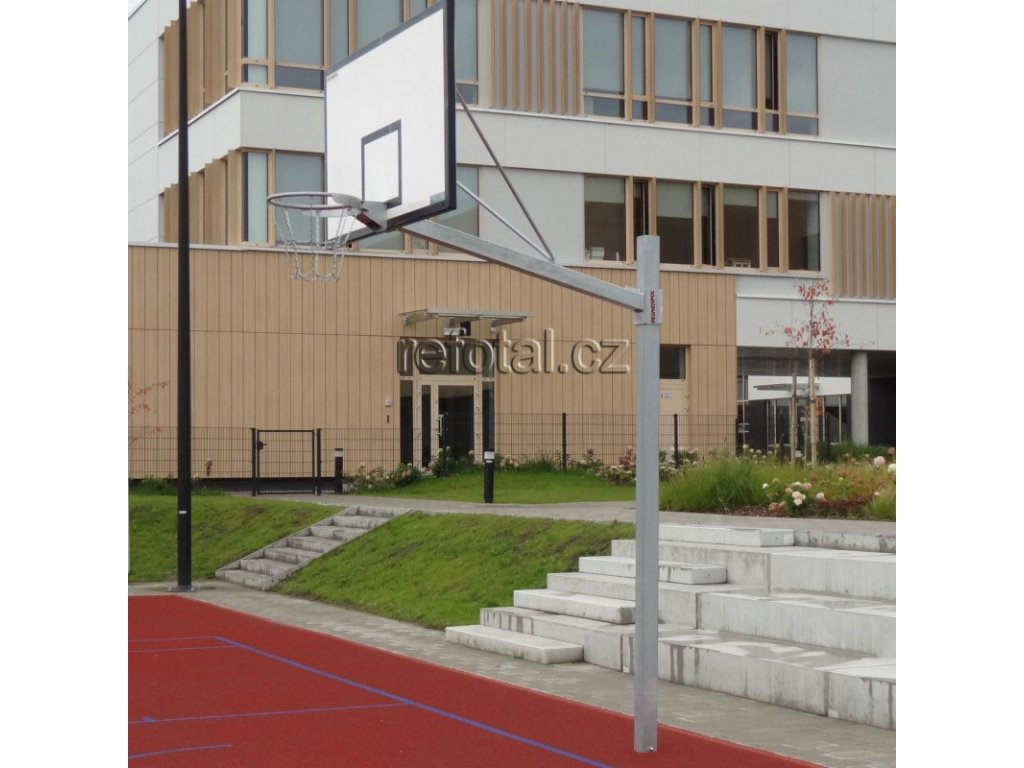 refotal basket konstrukce jednosloupová 105x180 cm uložena na stálo