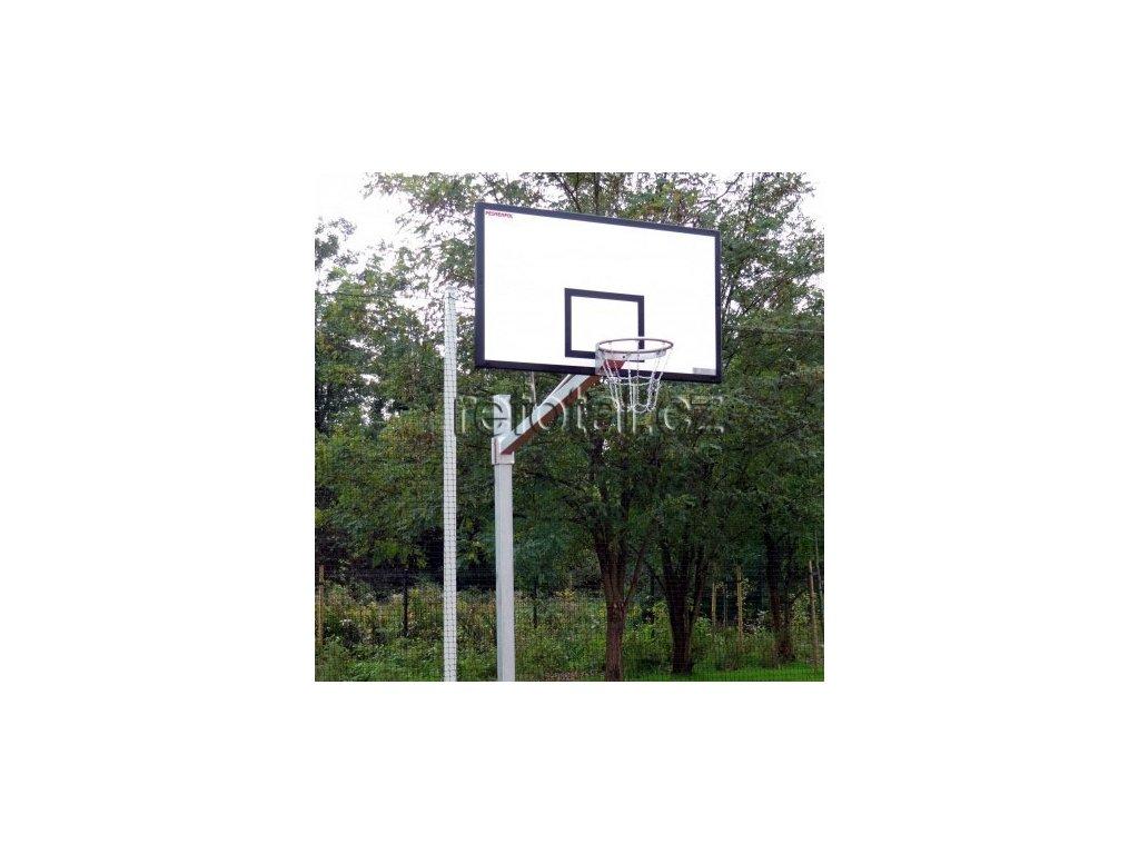 refotal basket konstrukce jednosloupová 105x180 cm profil 150x150 mm