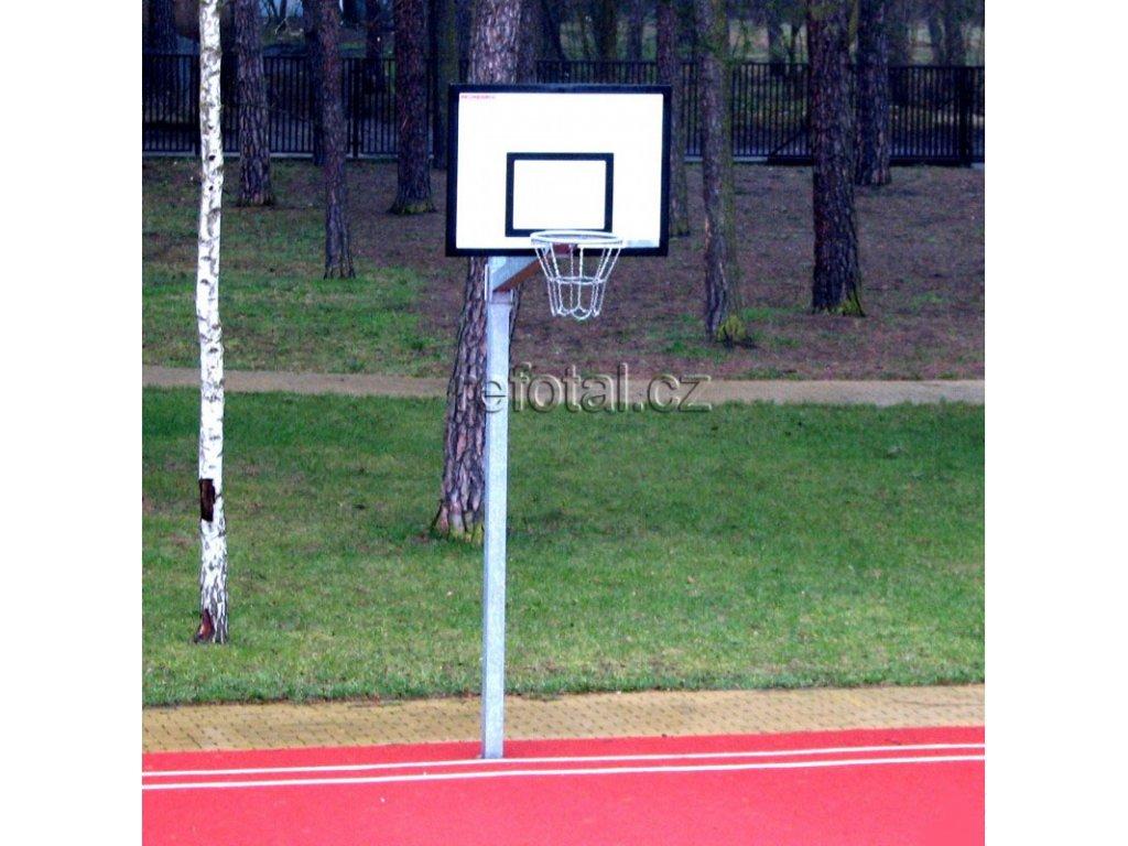 refotal basket konstrukce jednosloupová 105x180 cm