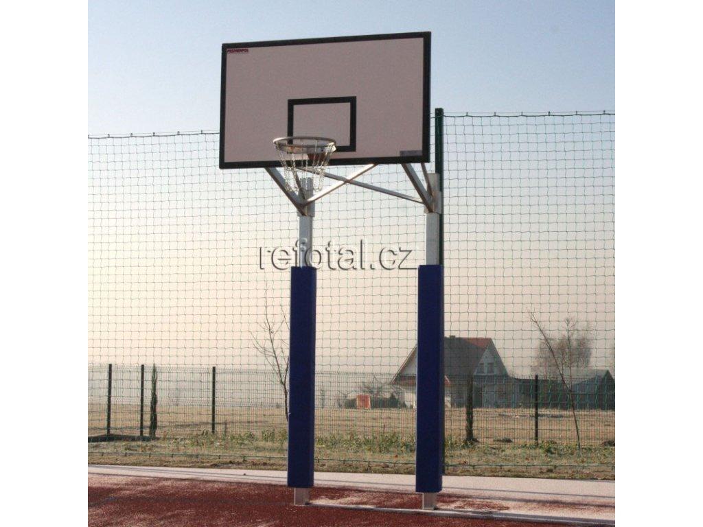 refotal basket konstrukce dvousloupová 105x180 cm instalace v tuleji foto 3