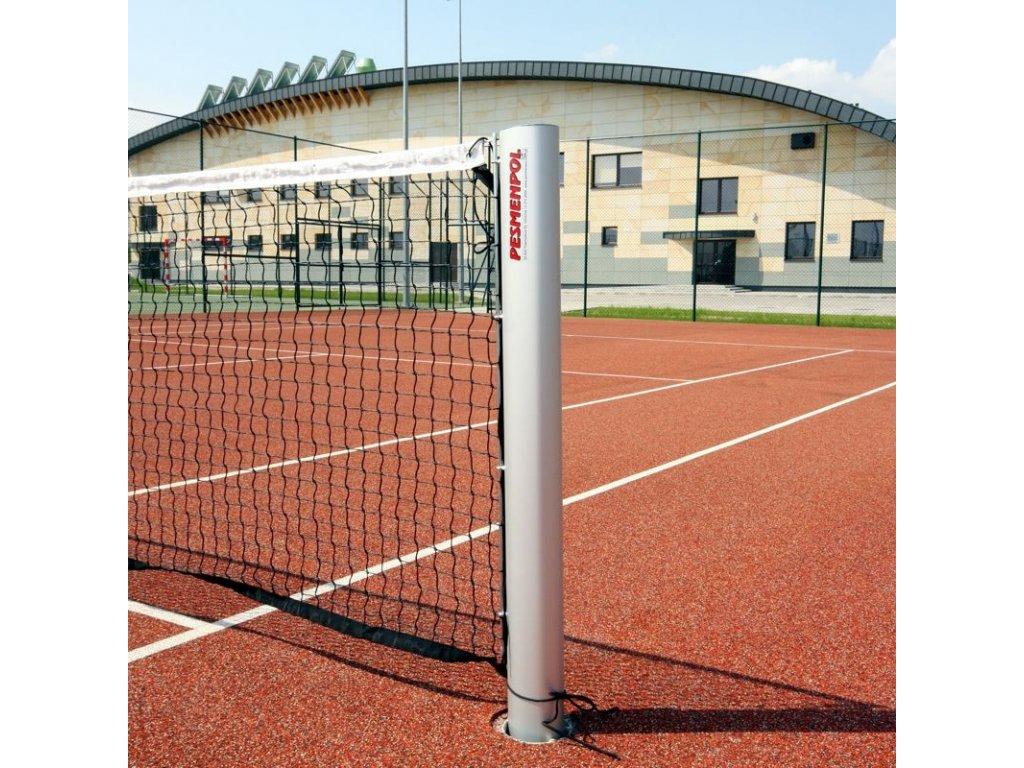 refotal tenisové sloupky hliníkové 120x100 mm