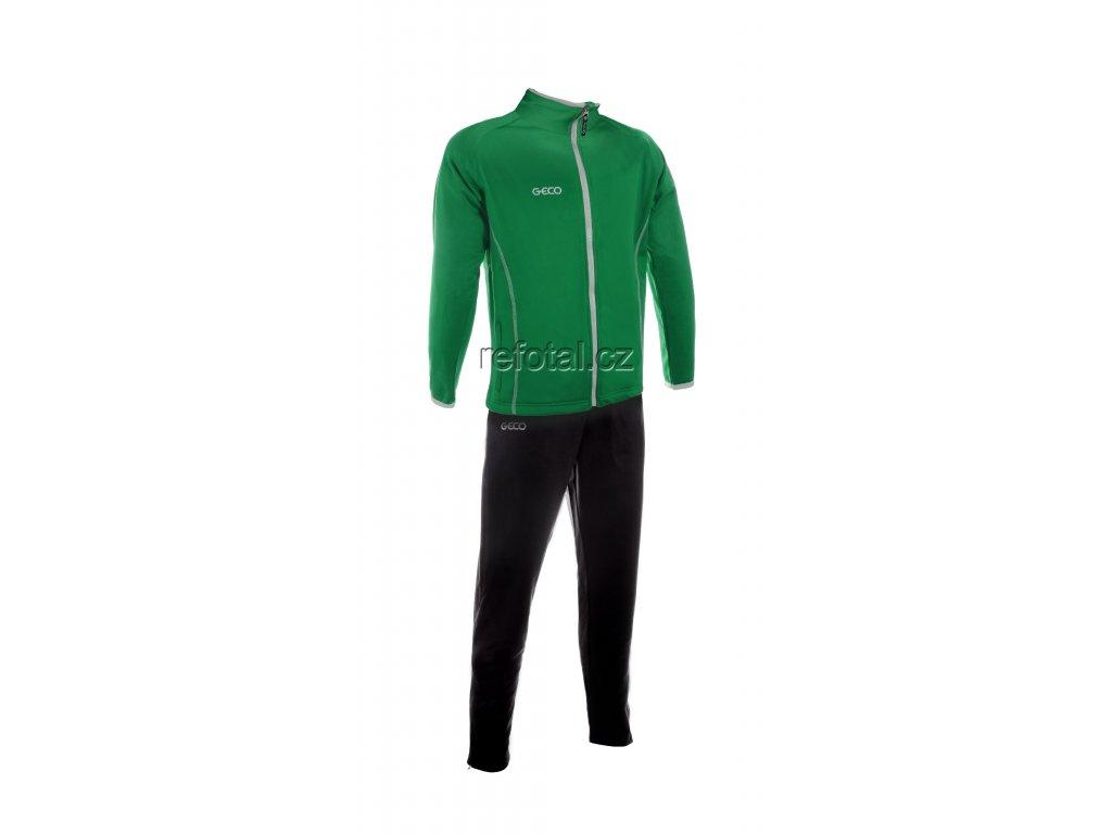 refotal Trainingsanzug gruen schwarz v