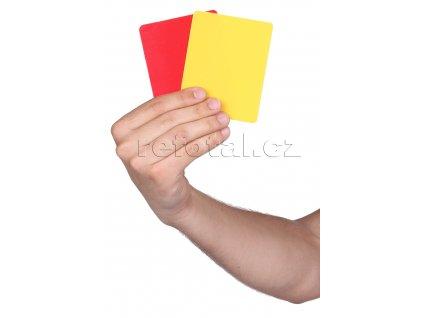 refotal červená a žlutá karta