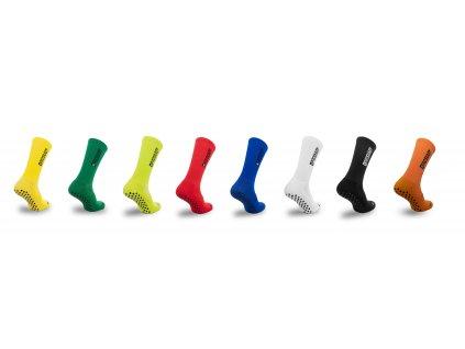 Ponožky s protiskluzem na chodidle Proskary