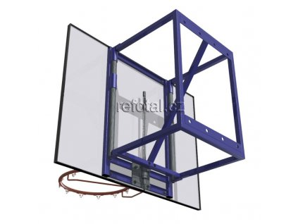 refotal basket konstrukce 60cm na stěnu s regulací