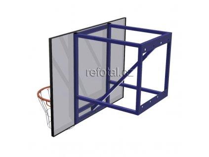 refotal basket konstrukce 70cm na stěnu s regulací