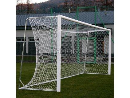 Fotbalová branka hliníková přenosná 7,32 x 2,44 m