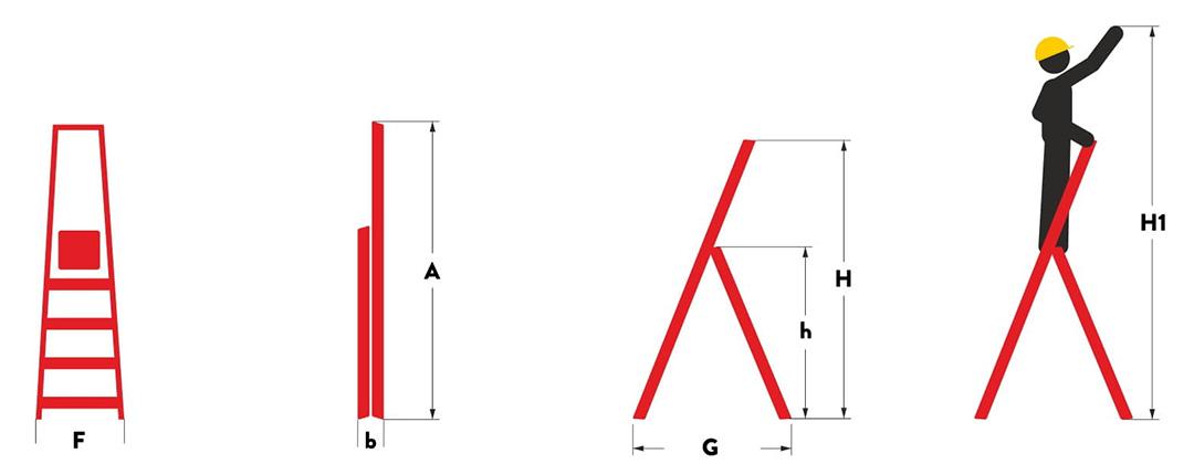 Hliníkové-schůdky-6-stupňů_rozmery