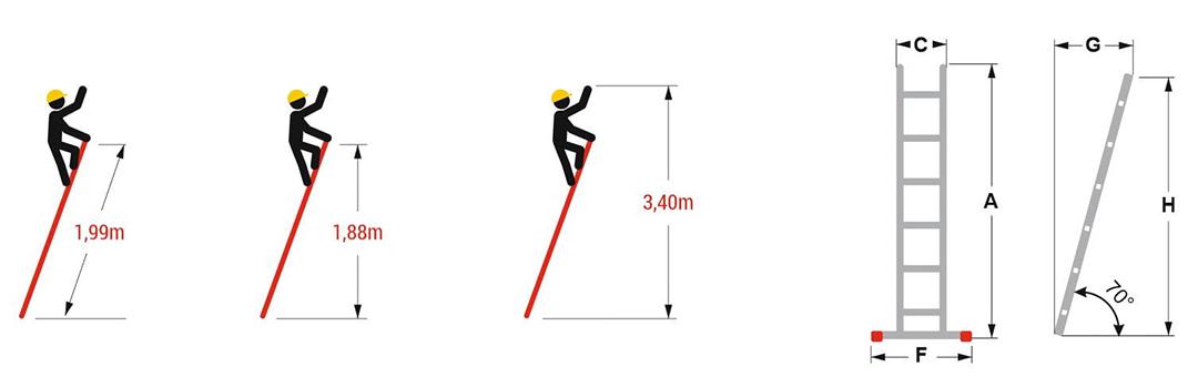 Hliníkový-jednodílný-žebřík-výška-1,99-m-2