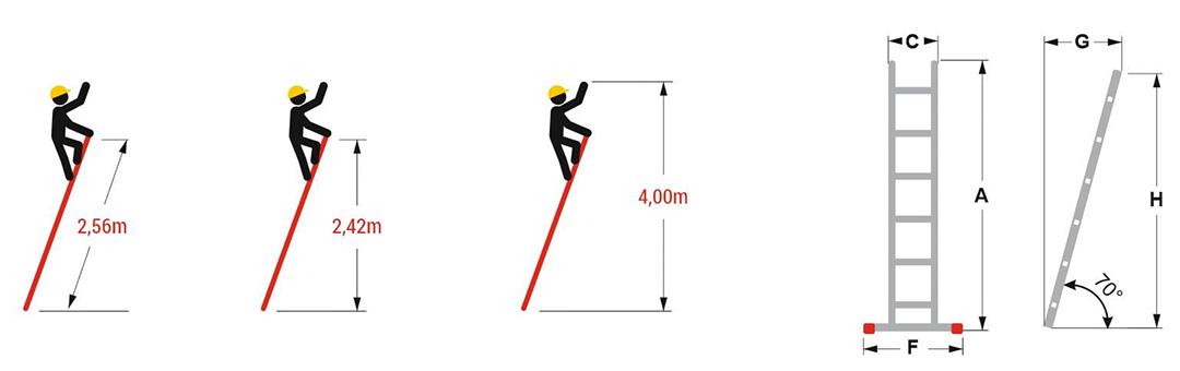 Hliníkový-jednodílný-žebřík-výška-2,56-m-2