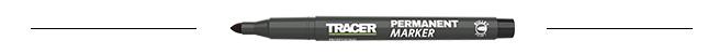Černý-permanentní-popisovač-Tracer-AMP1-popis