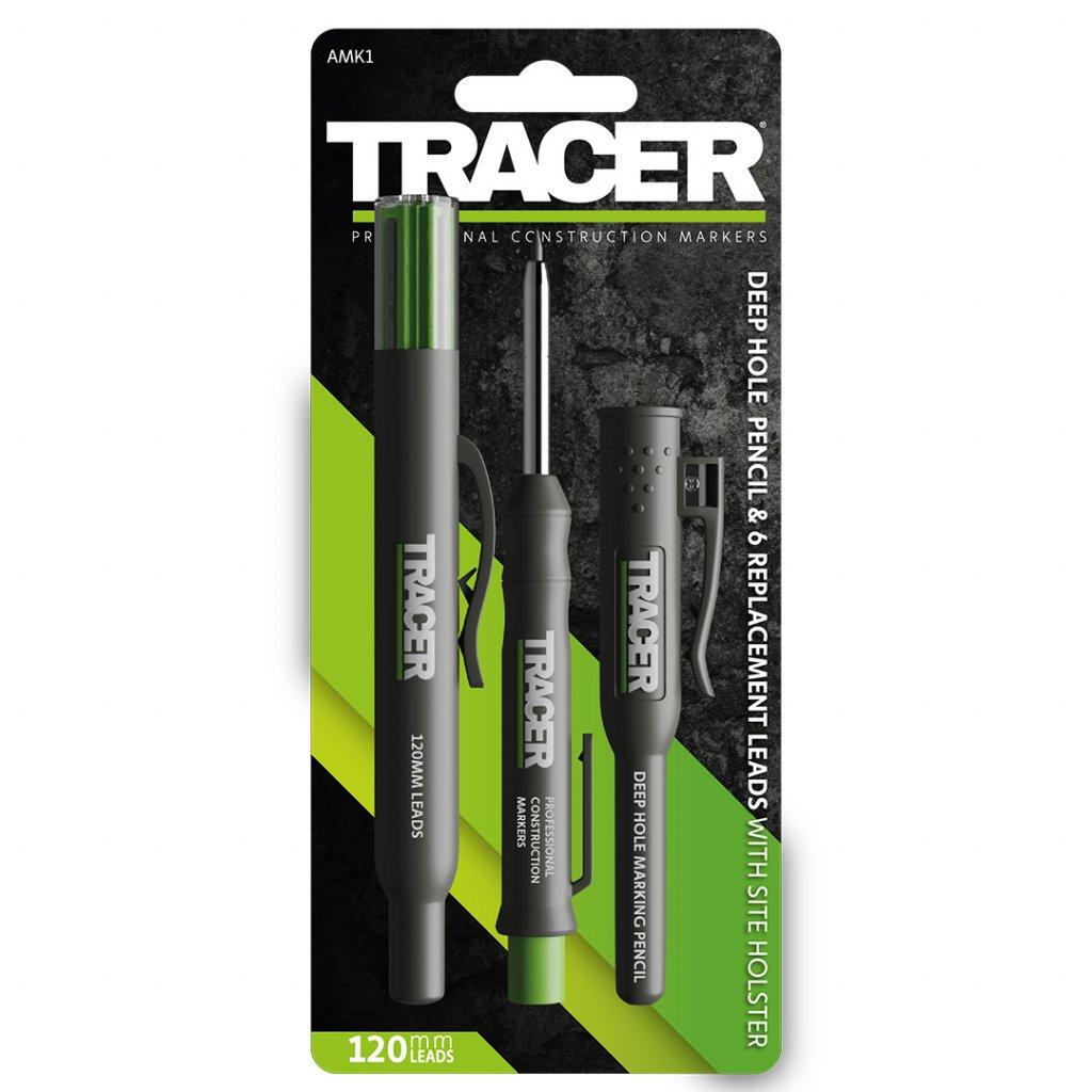 Sada truhlářské tužky Tracer ADP2 s vyměnitelnými tuhami 2