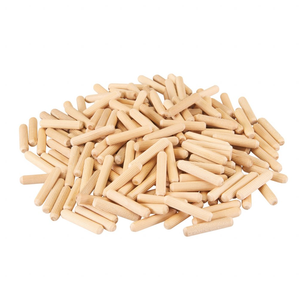 Dřevěné kolíky 8 40 mm 200 ks 1