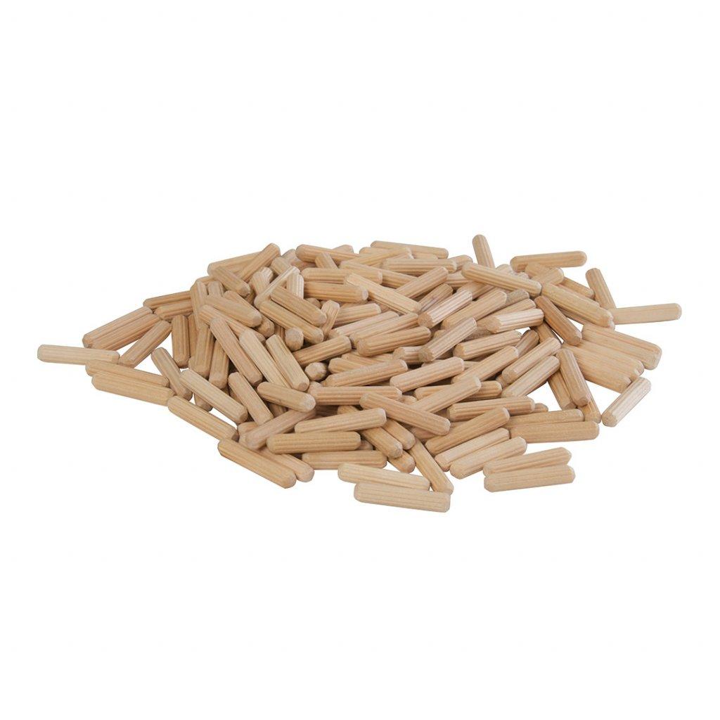Dřevěné kolíky 6 30 mm 200 ks 1