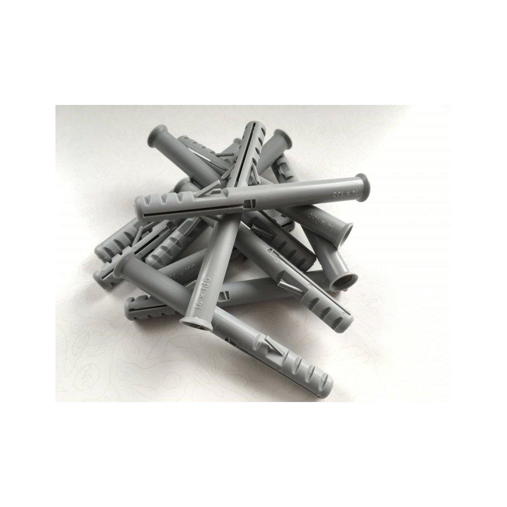 Hmoždinka lešenářská nylonová 14 x 135mm
