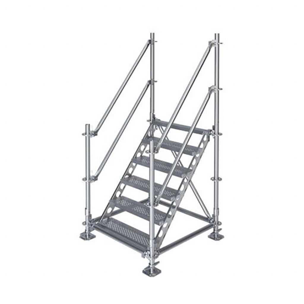 Samonosné venkovní schodiště - výška 1 m