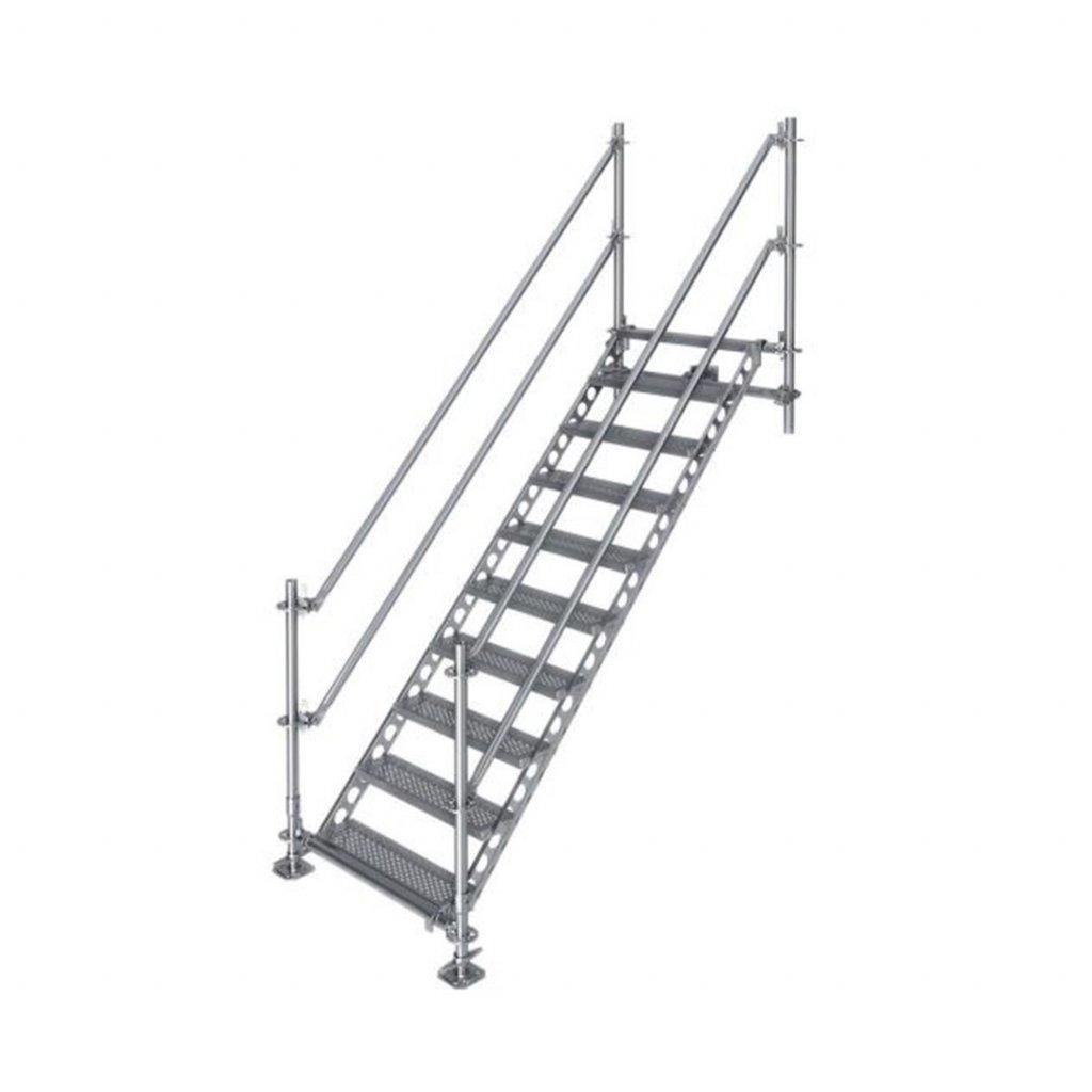 Venkovní schodiště, výška 2 m 1