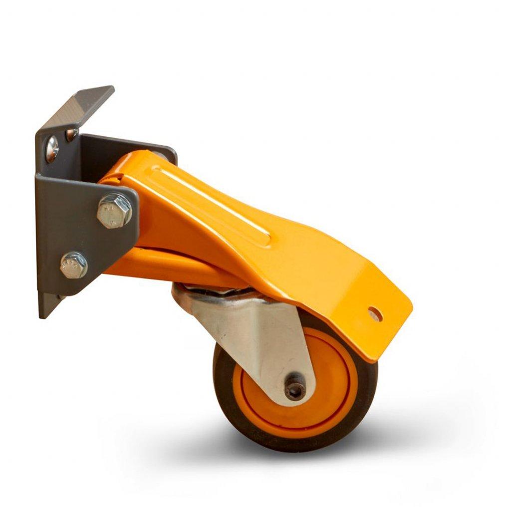 Sada koleček BORA pro zpojízdění strojů a nábytku 6