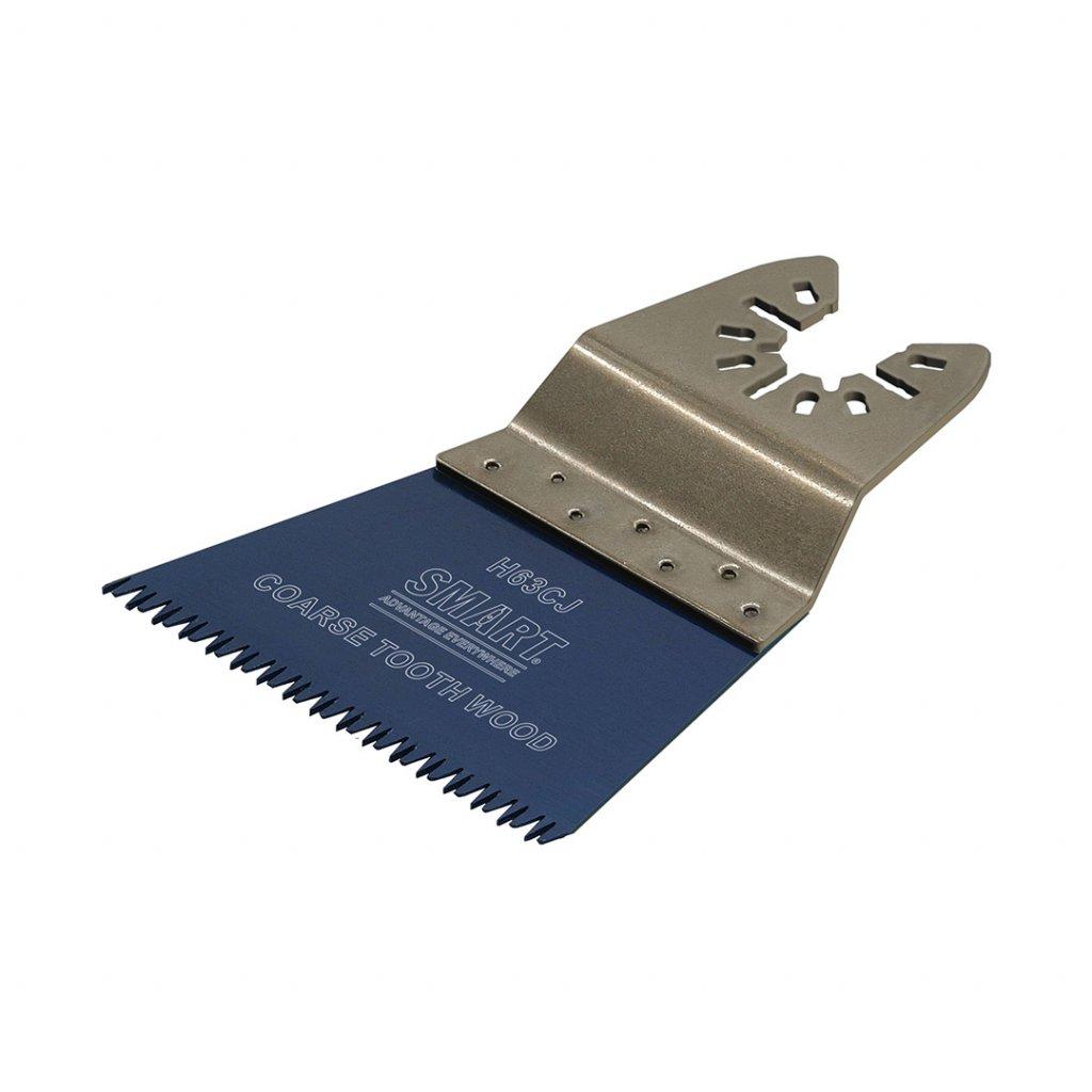 Pilový list SMART TRADE s japonským ozubením na dřevo a plast 63 mm 1 kus 1