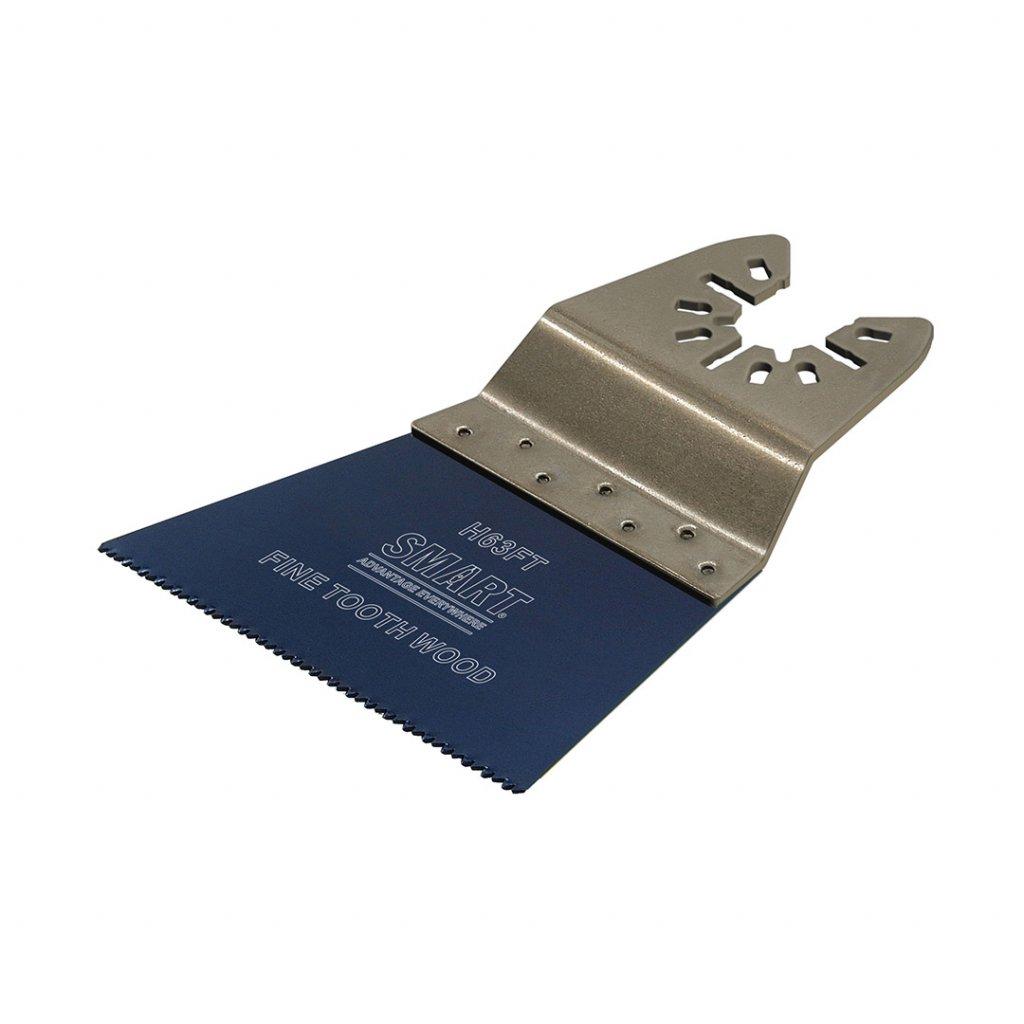 Pilový list SMART TRADE s jemnými zuby na dřevo a plast 63 mm 1 kus 1