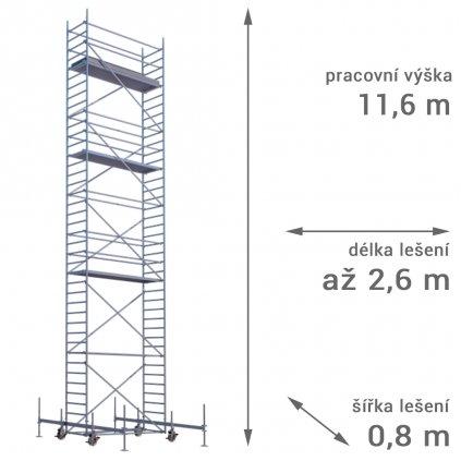 pojizdne leseni rux mobilo 800 vyska 116 1