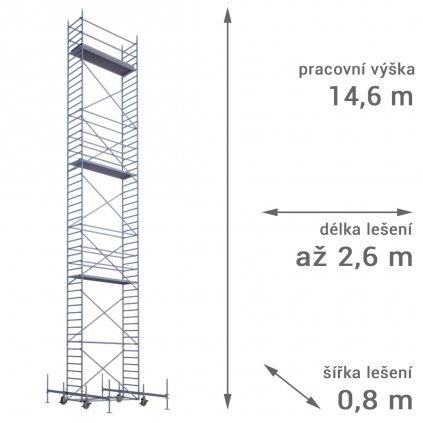 pojizdne leseni rux mobilo 800 vyska 146 1