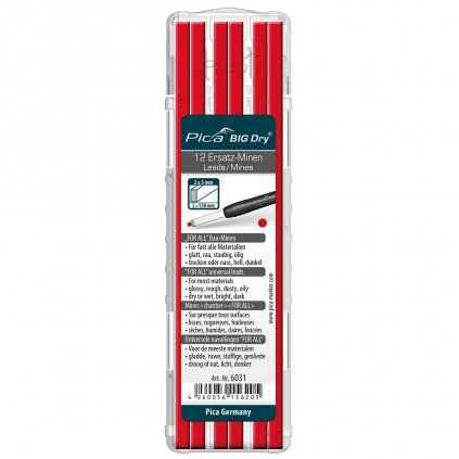 Univerzální náplň pro tužku Pica BIG dry červená 1