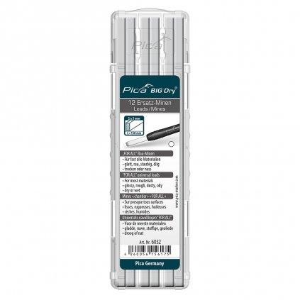 Univerzální náplň pro tužku Pica BIG Dry bílá 1