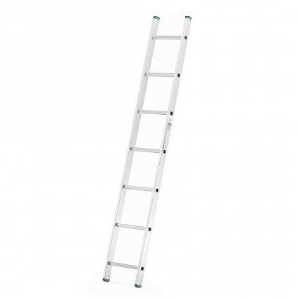 Hliníkový jednodílný žebřík výška 1,99 m 1
