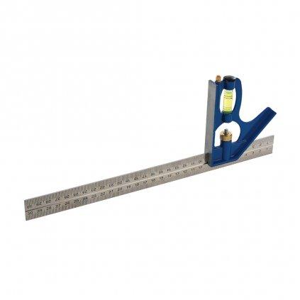Kombinovaný úhelník a vodováha 300 mm 2