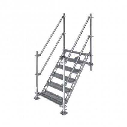 Venkovní schodiště, výška 1 m 1