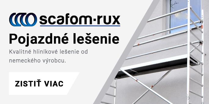 Pojazdné lešenie Scafom-RUX
