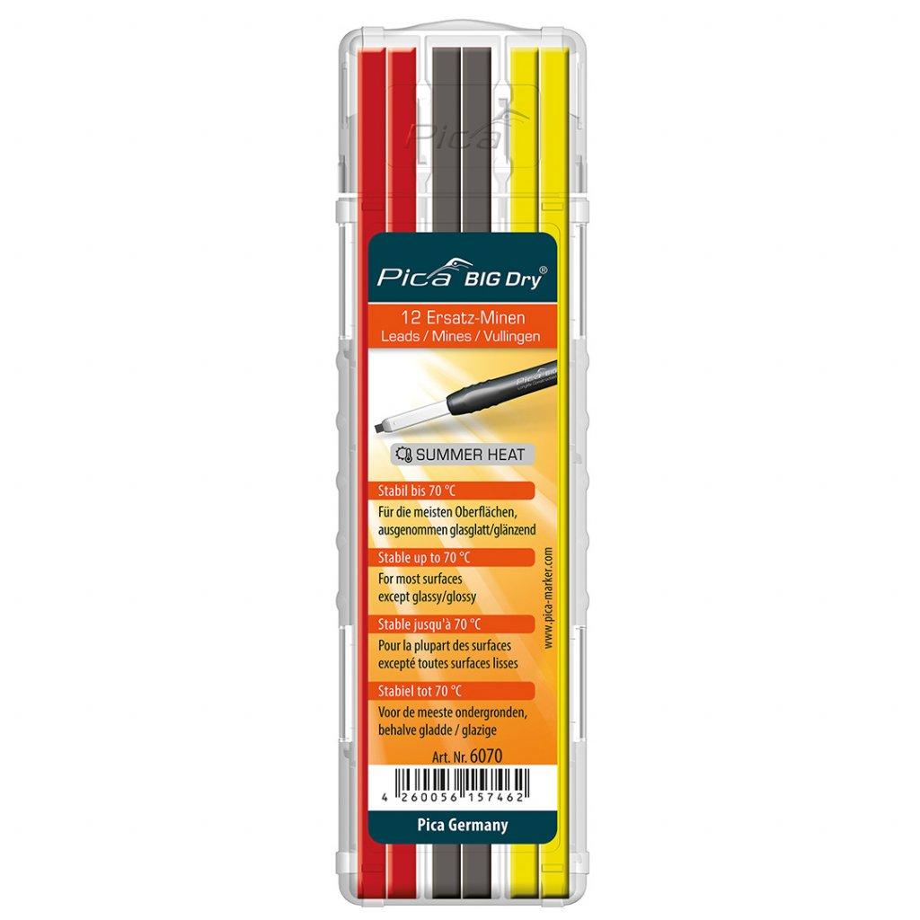 Náplň do ceruzky Pica BIG Dry letná 2