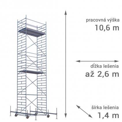 pojazdne lesenie rux mobilo 1400 vyska 10 6