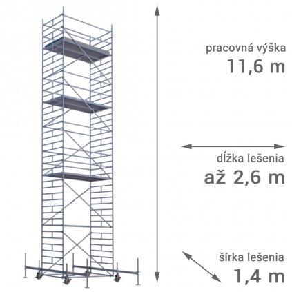 pojazdne lesenie rux mobilo 1400 vyska 11 6