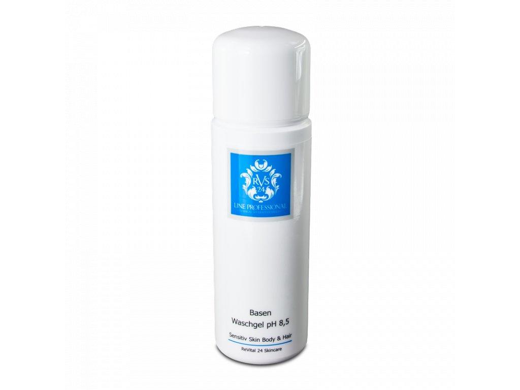 ReVital24 Jemný zásaditý gél na každodenné čistenie pokožky tváre a tela s pH 8,5 200 ml